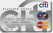 Citi Platinum Select Mastercard