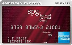 Starwood Preferred Guest Business Credit Card from American Express OPEN