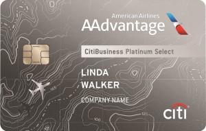 Citi AAdvantage Business Platinumn Select MasterCard