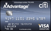 Citi Platinum Select AAdvantage Visa Signature Card