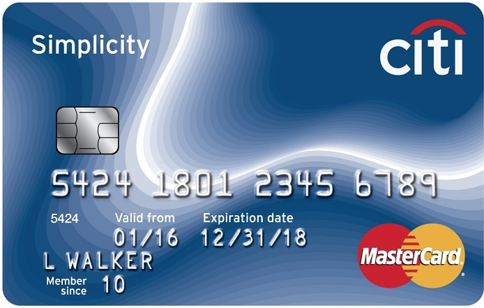 Citi Simplicity Card Art