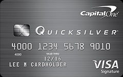 Capital One Quicksilver Image