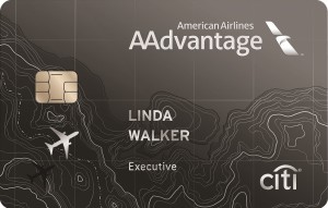 Citi AAdvantage World Elite MatserCard Art