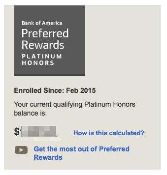 Bofa Travel Rewards Credit Card With Platinum Honors