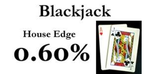 0.60% House Edge