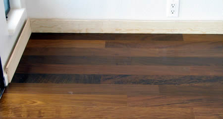 Diy Installation Of Floating Engineered Hardwood Flooring