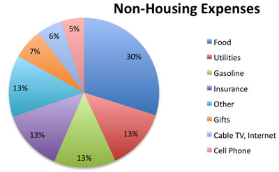 how much do we spend breakdown of current expenses my money blog. Black Bedroom Furniture Sets. Home Design Ideas