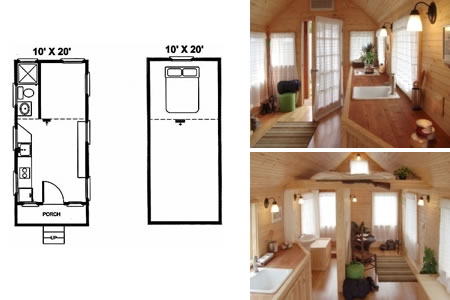 Tiny House on Wheels Initial design of the exterior Lilypad a
