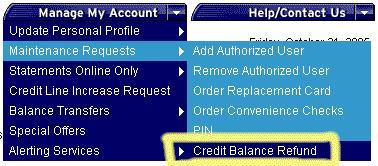 AT&T Citibank Screenshot
