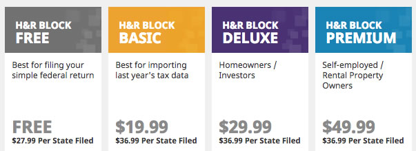 H R Block Online Review 2014 Tax Year Features And Screenshots