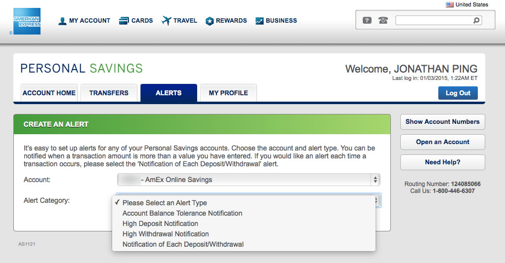 American Express Online Savings >> American Express Personal Savings Account Review Updated My