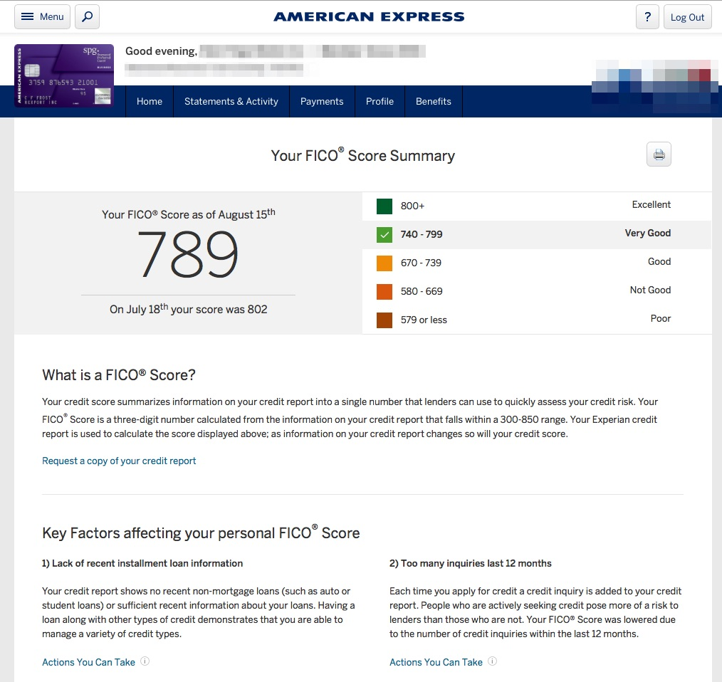 american express loan site down