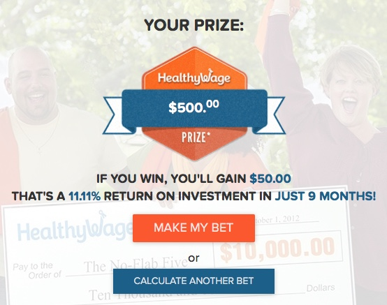 Healthywage Review: Bet on Yourself, Get Paid To Lose Weight