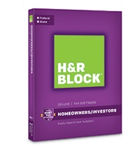 H&R Block Desktop Tax Software 2017: Fed + State $17 99