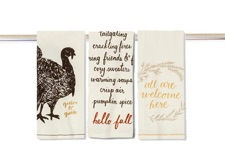 TopCashBack Existing User Promo: Free Fall-Themed Dish Towel ($2.99 Value)