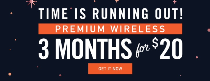 Mint Mobile Holiday Promotion: 3 Months of Unlimited Talk, Text, 5GB Data For $20 Total ($6.67/Mo)