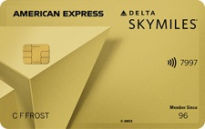 Gold Delta SkyMiles American Express – 70,000 Mile Offer, Annual Fee Waived First Year